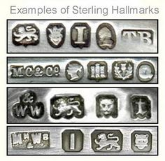Gold and silver hallmarks guide