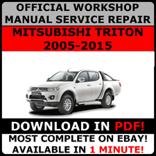 1989 mitsubishi triton workshop manual