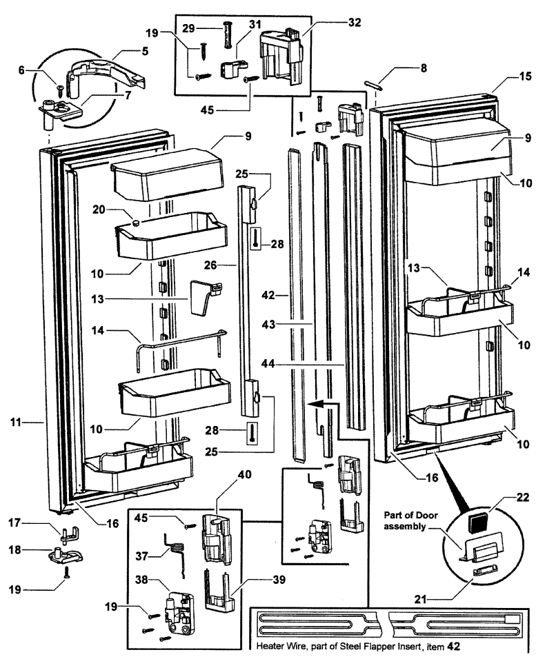 Fisher and paykel spare parts manual