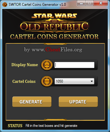 Swtor how to get cartel coins for free
