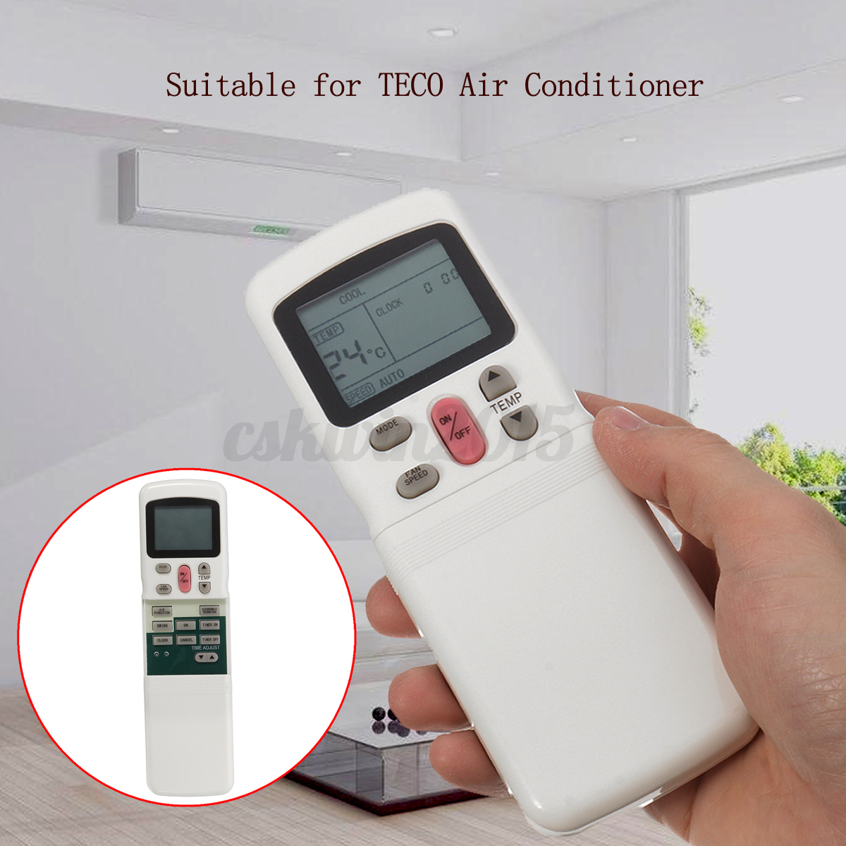 teco air conditioner remote manual