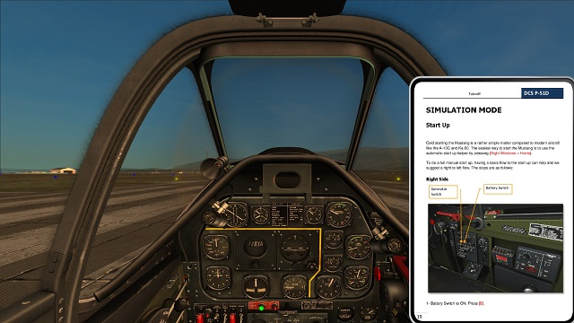Dcs world how to find tacan airport