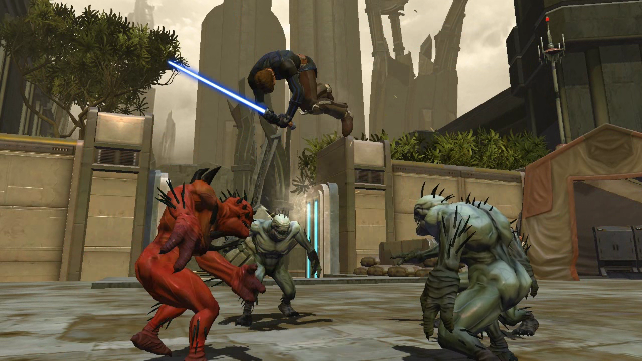 Knights of the old republic how to kill a rakghoul
