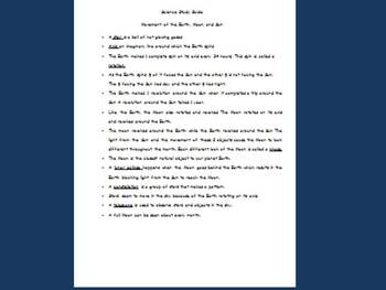 The white earth study guide
