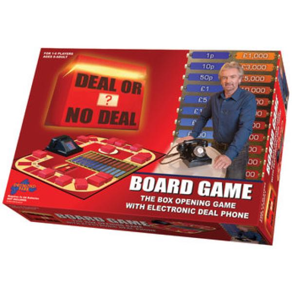 deal or no deal board game instructions australia