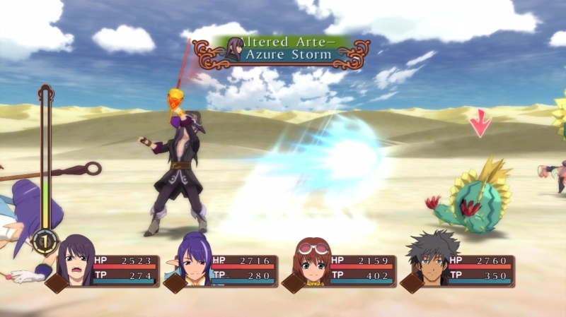 Tales of vesperia how to learn azure storm