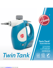 hoover twin tank multi steamer instructions