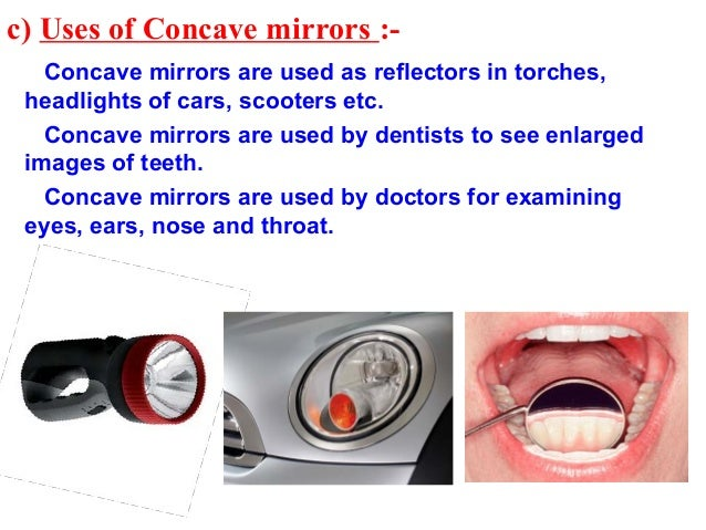 Application of concave and convex lens in daily life