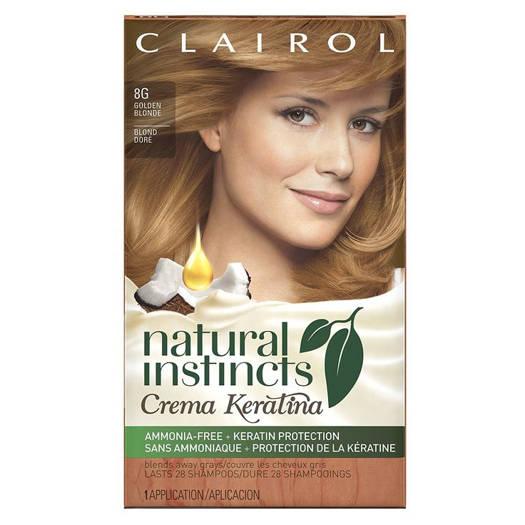 clairol natural instincts crema keratina instructions