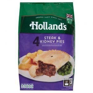 hollands steak and kidney pudding cooking instructions