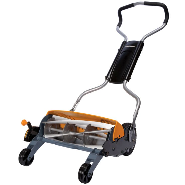 how to sharpen manual lawn mower