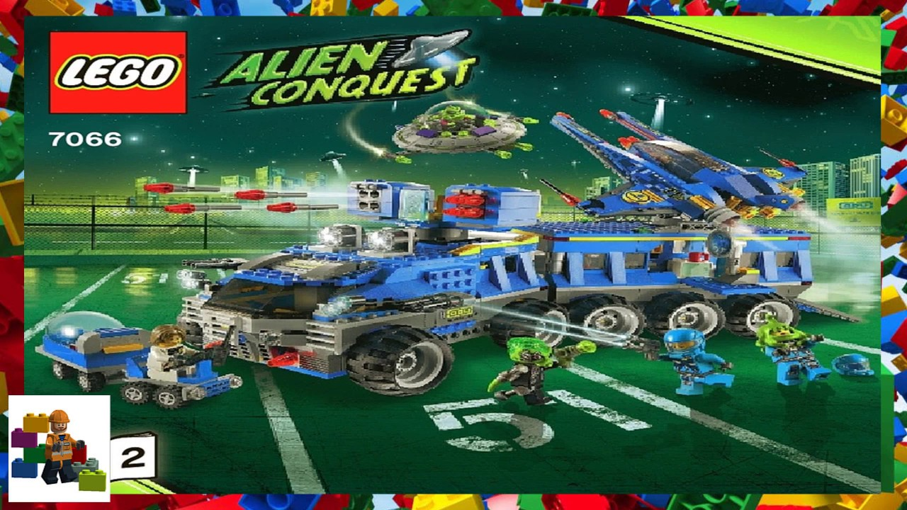 lego alien conquest instructions 7066