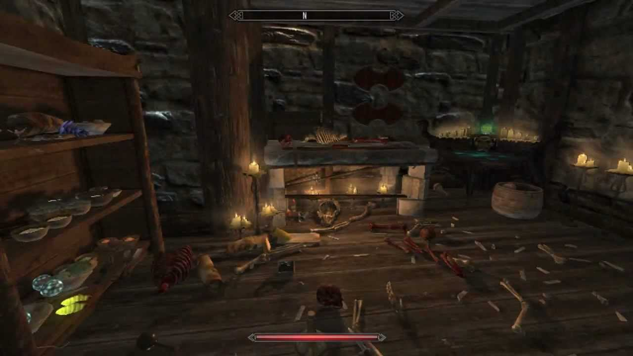 Skyrim how to get a free house in windhelm