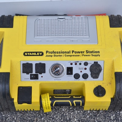 stanley portable power station manual