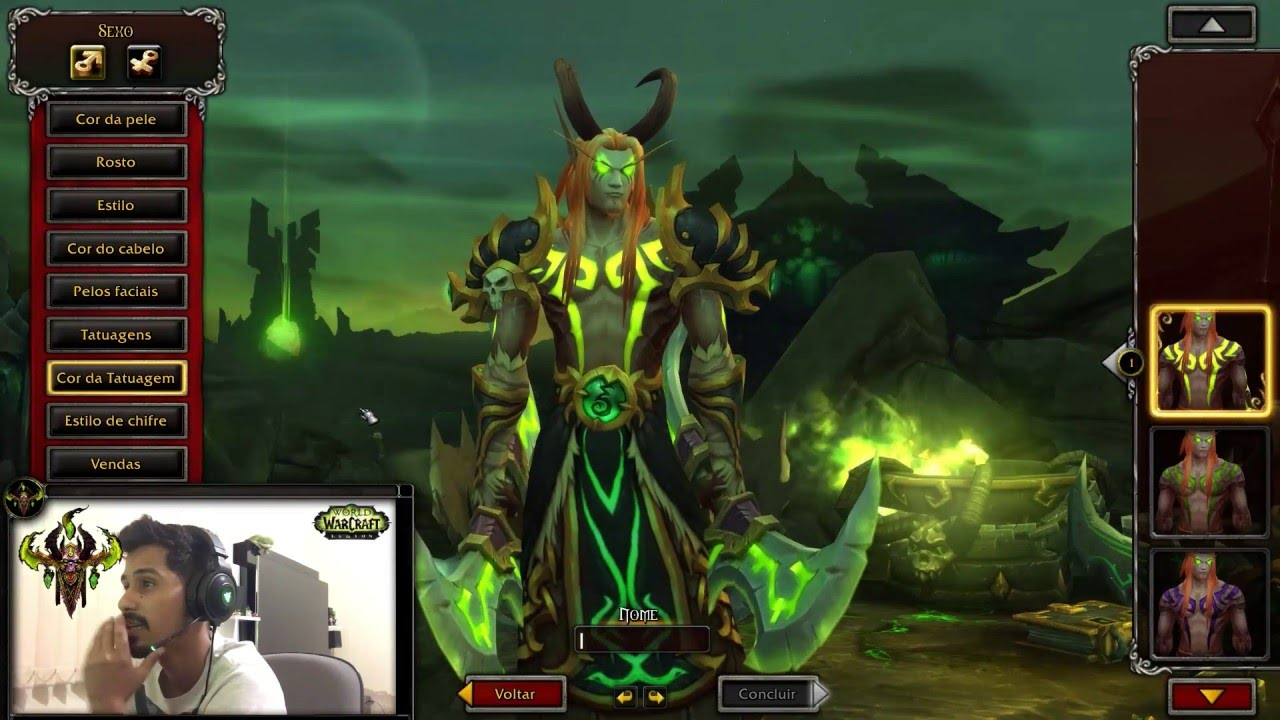 Wow how to make a demon hunter